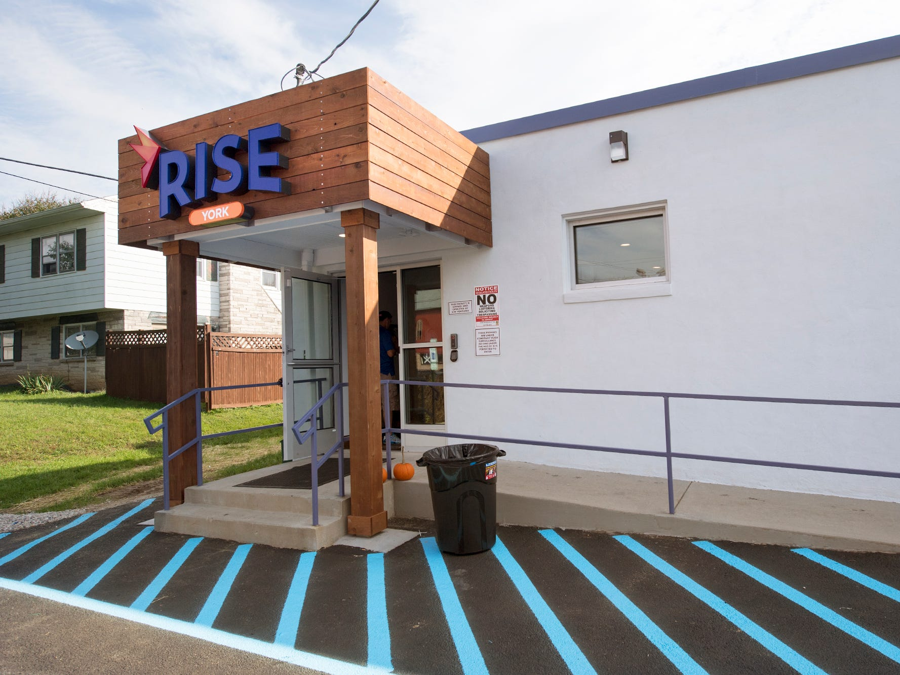 The Rise medical marijuana dispensary in West Manchester Township will open Friday.