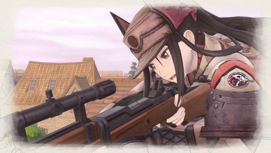 The sniper Kai from Valkyria Chronicles 4 for PC, PS4, Switch and Xbox One.