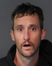 Jacob Quint, 33, was booked Sept. 25, 2018 into the Washoe County jail on a total of six charges and was being held on a total of $55,000 bail.
