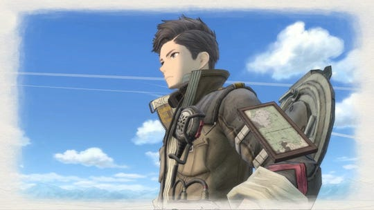 Main protagonist Claude in Valkyria Chronicles 4 for PC, PS4, Switch and Xbox One.