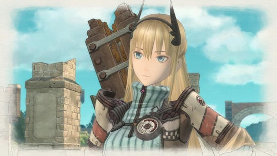 Grenadier Riley from Valkyria Chronicles 4 for PC, PS4, Switch and Xbox One.