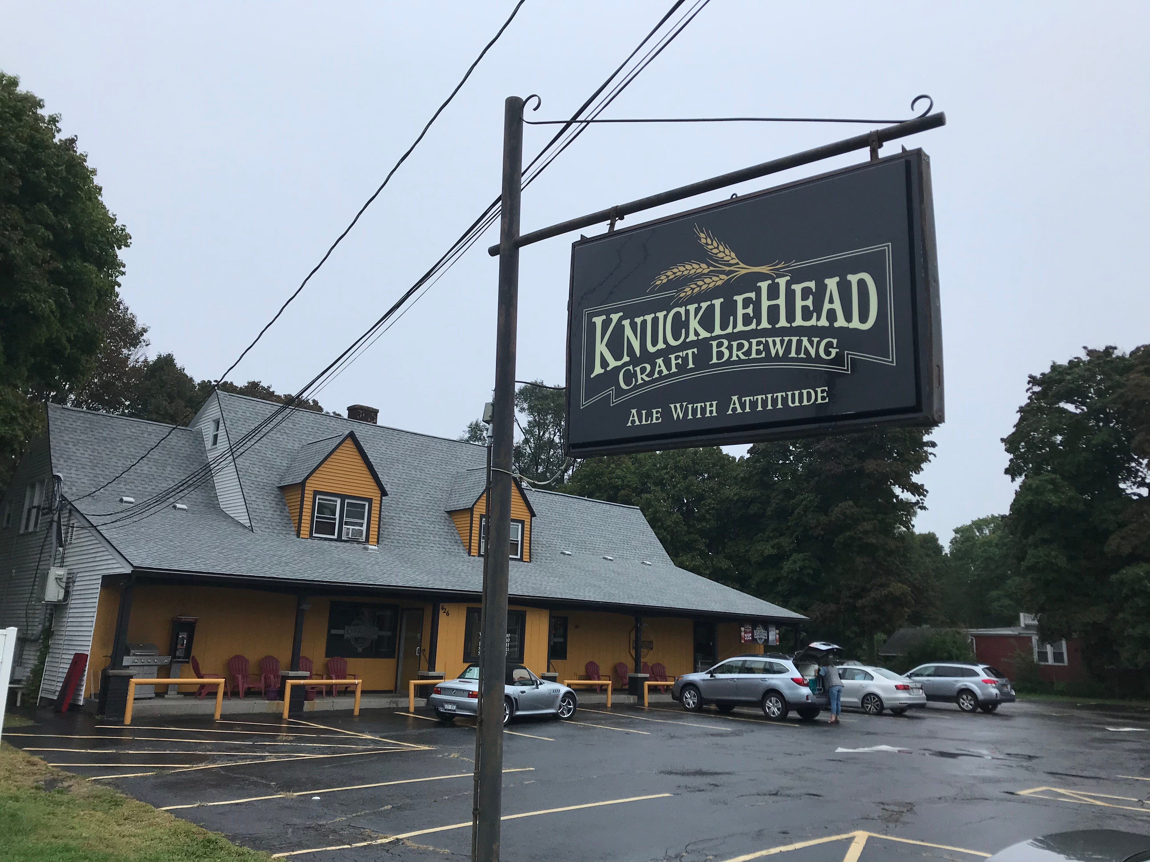 Knucklehead Craft Brewing in Webster is the building formerly housed Seitz's grocery store.
