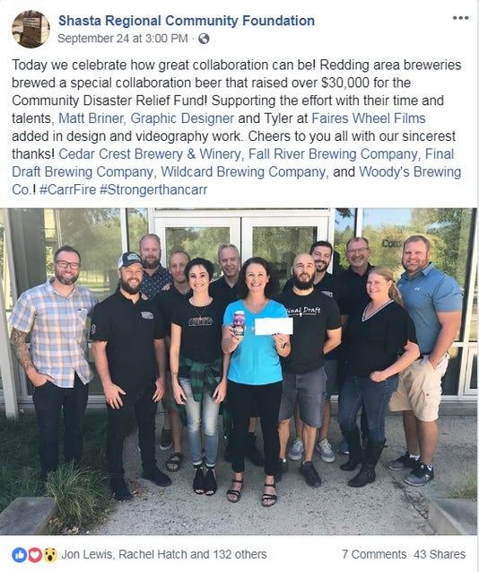 Shasta Regional Community Foundation on Facebook