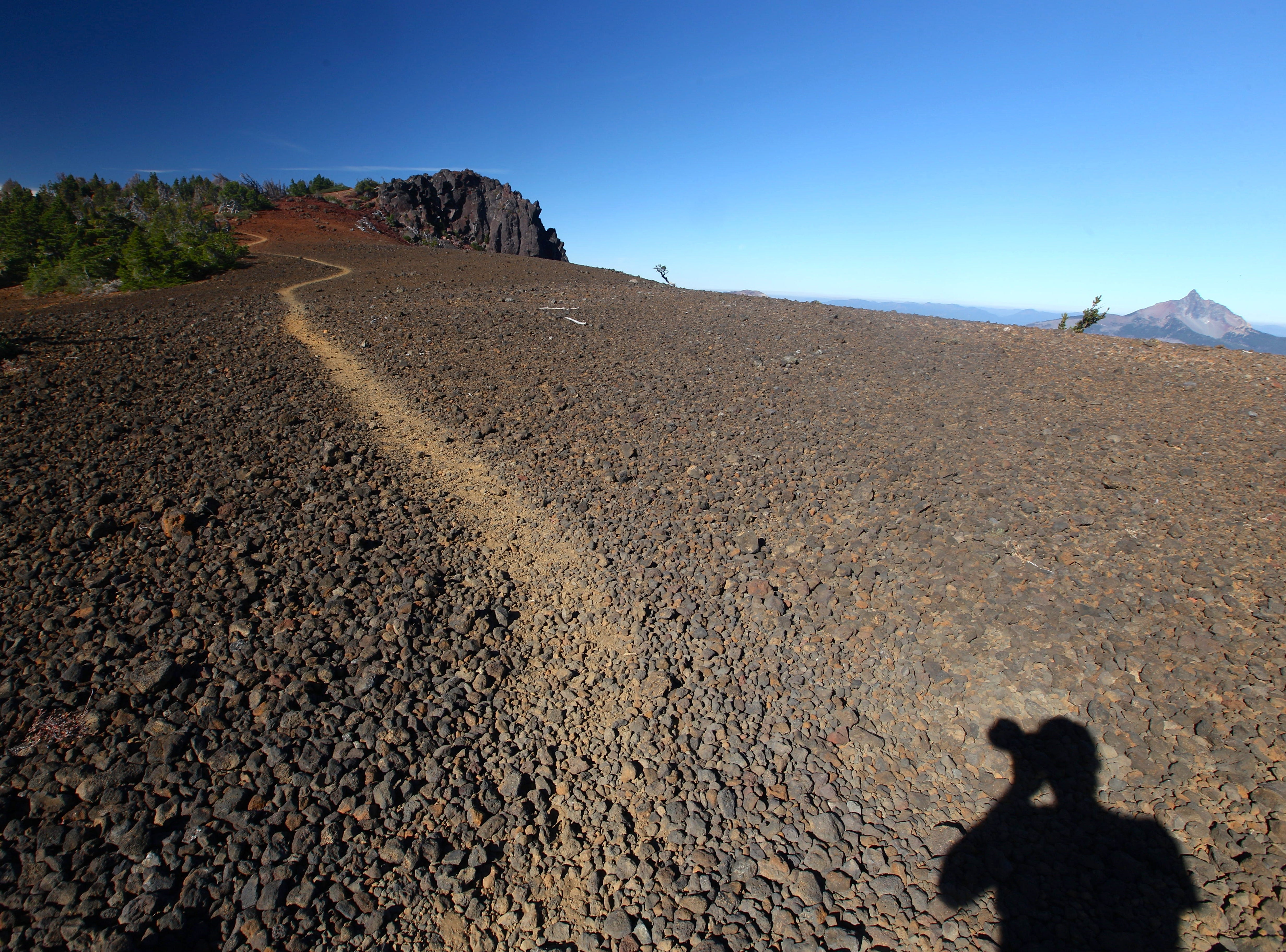 Top of Black Crater Trail