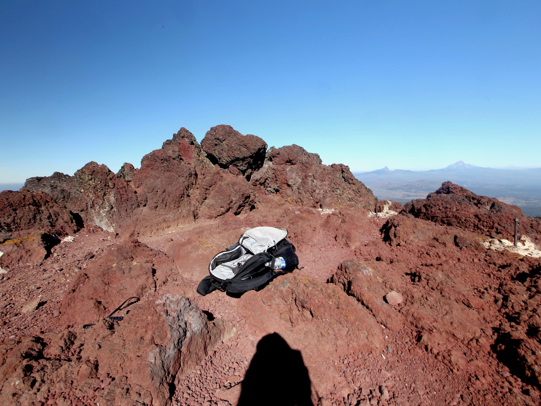 Summit of Black Crater