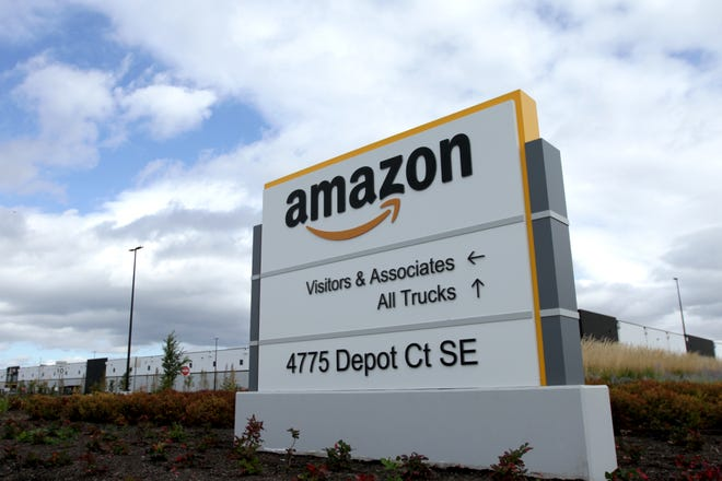 Amazon announced its minimum wage would be raised to $15 an hour for all employees on Tuesday, Oct. 2, 2018. The Amazon fulfillment center in southeast Salem opens in 2019.