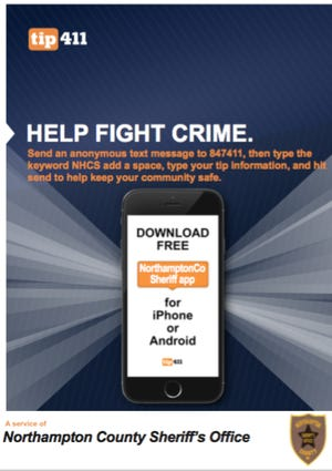 Northampton residents can use a new app to submit crime tips and receive alerts.
