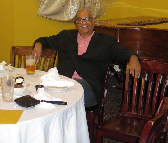 Attorney P. Paul McCraney at Alex Harris Sr.'s 90th birthday dinner