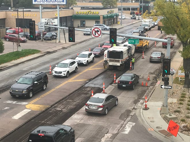 The city of Sioux Falls is using about $100,000 of leftover cash in the 2017 budget to resurface about four blocks of Minnesota Avenue.