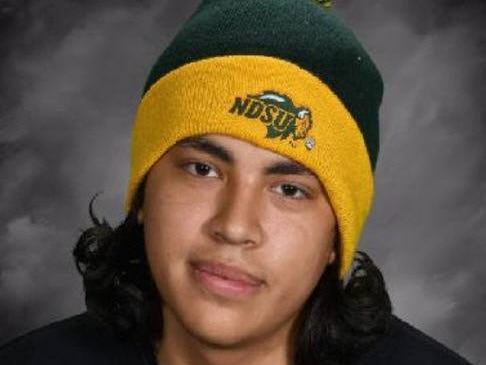 Morgan Cooley, 16, was last seen Saturday in Rose Creek, Minnesota. A warrant is out for the arrest of his mother, Izetta Cooley, the wife of a man accused of murder in Fargo, North Dakota.