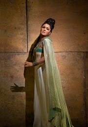 "Anna Netrebko in the title role of Verdi's ""Aida."" The popular opera is showing in St. George this weekend for the first in a series of high-definition simulcasts that broadcast the live show from New York in theaters around the world."