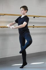 Collin Vaccaro has dedicated eight years of his young life to the study of dance.