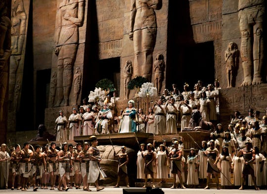 "Catch Verdi's ""Aida"" in epic size on Saturday at Movies at Governor's Square."