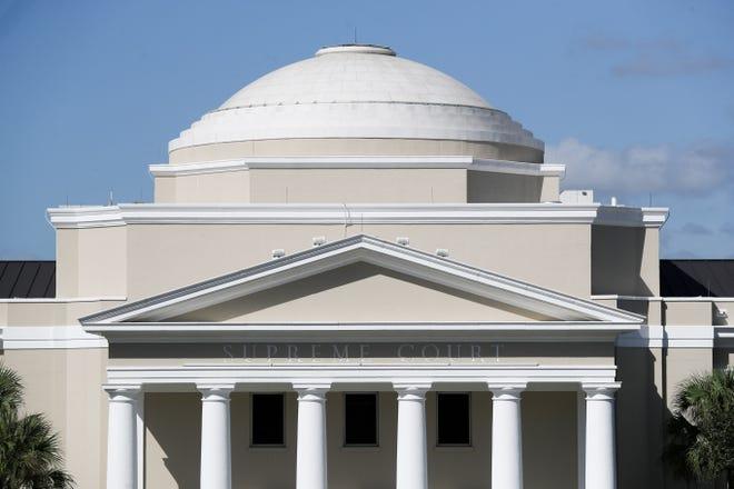 File: Florida Supreme Court building exterior.