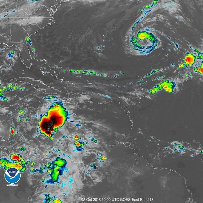 Tropics 6 a.m. Oct. 2, 2018