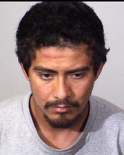 Rubiel Juarez-Garcia, 26, of Oxnard, was arrested late Monday by Oxnard police in connection with felony vehicle theft.