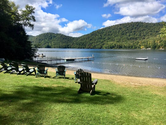 Where does one find the world's biggest collection of Adirondack Chairs? Most likely it's Adirondack Park in upstate New York. The state preserve is huge — the size of Vermont with as many lakes as Minnesota. The park is loaded with inviting private resorts and rental cabins.