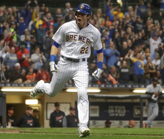 Westlake High graduate Christian Yelich finished first in the National League in batting average at .326, third in home runs with 36 and second in RBIs with 110 while leading the Brewers to the NL Central title. He appears to be lock for the NL MVP award.