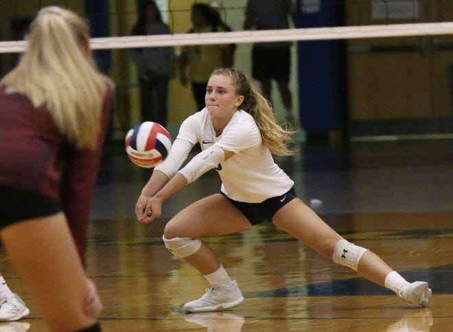 Sheboygan North libero Dru Kuck committed to Wisconsin as a freshman and is considered one of the top prep volleyball recruits in the state this year.