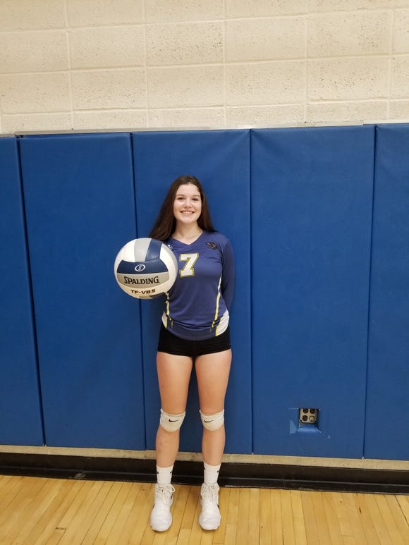 Ardsley sophomore Rory McNerney was named the lohud volleyball Player of the Week on Oct. 2, 2018.