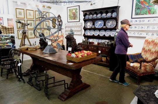 Black Swan Antiques of Washington, Conn., is among the vendors at the Fall Antiques at Rhinebeck Show Oct. 6-7 at the Dutchess County Fairgrounds in Rhinebeck