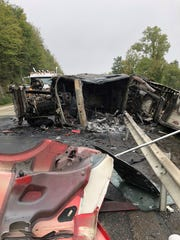 Thomas Cipolla of Beacon died after his car crashed into an overturned tractor-trailer on Interstate 84 in Kent on Oct. 1, 2018.