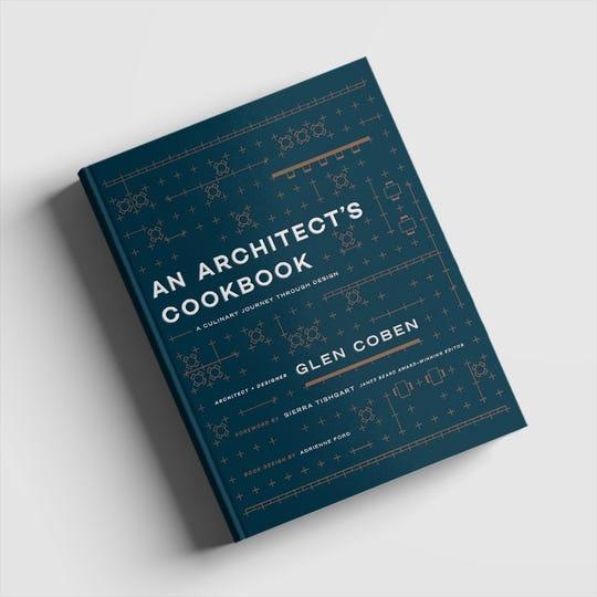 """Harrison resident Glen Coben has written a new book. """"An Architect's Cookbook."""""""