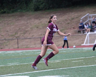 Albertus Magnus sophomore Bella Orlando was named the lohud girls soccer Player of the Week on Oct. 2, 2018.