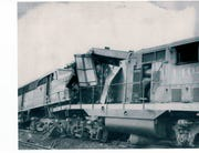 Two Erie Railroad trains crashed in the Ramapo hamlet of Sterlington on Aug. 11, 1958.