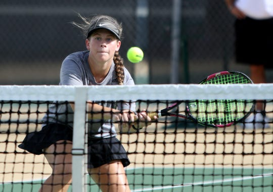 Wichita Falls High School's Alexa Alden will be competing in girls singles this spring.
