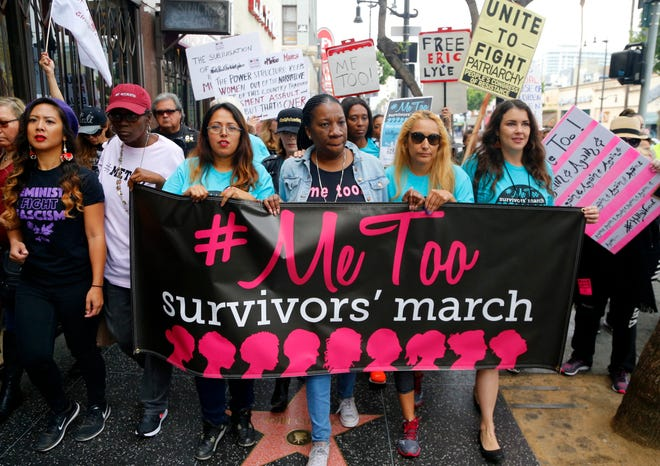 Demonstrations against sexual harassment have become commonplace since the advent of the #MeToo movement.
