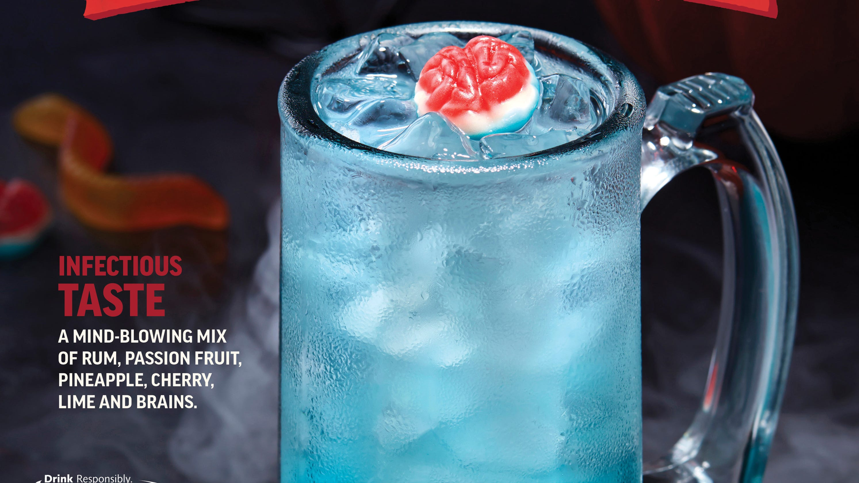 Applebee's Dollar Zombie Drink Is A Halloween Treat With A
