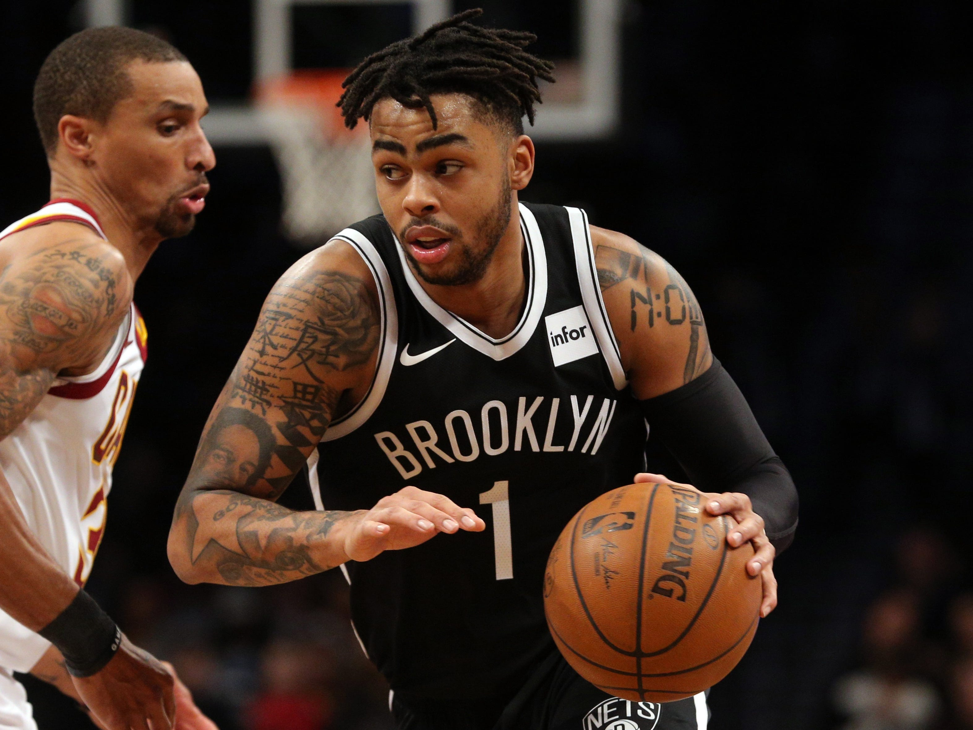 D'Angelo Russell, Brooklyn Nets — 22 (born 2/23/1996)