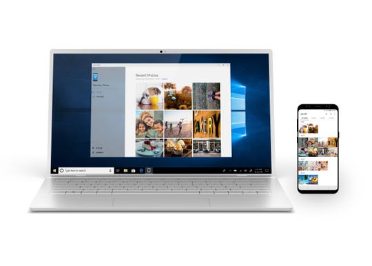 Microsoft's Your Phone app is about having Windows 10 make nice with Android.