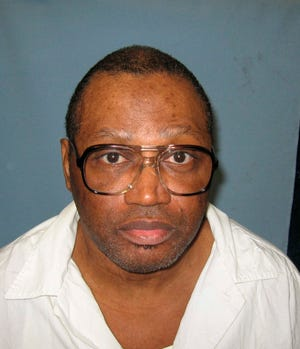 Alabama death row prisoner Vernon Madison, here in an undated photo provided by the Alabama Department of Corrections, cannot remember the murder he committed in 1985.