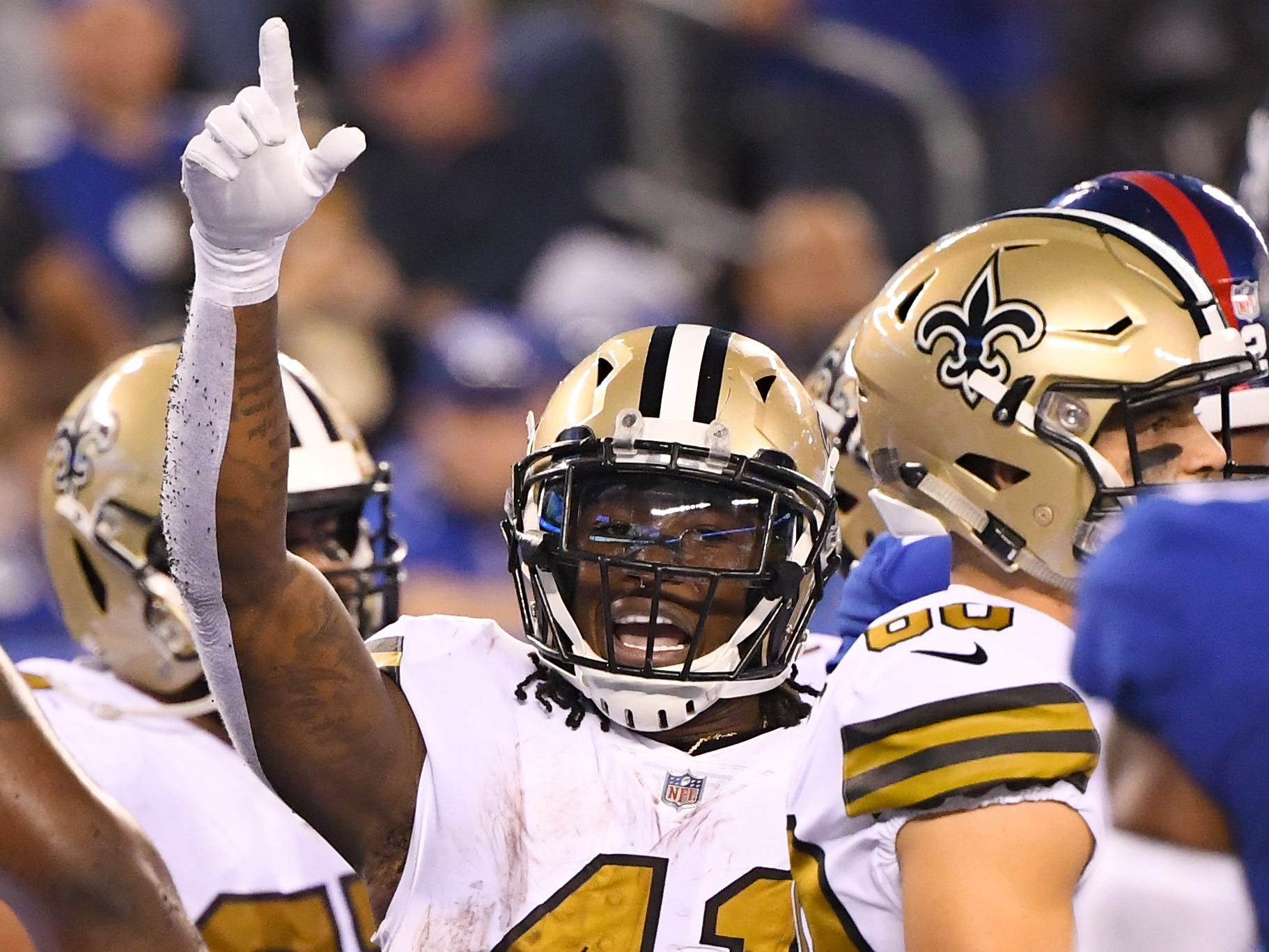 3. Saints (3): Their 3-1 start is best in five years, and things are only looking up with RB Mark Ingram set to rejoin buddy Alvin Kamara in backfield.