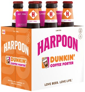 Dunkin' and Harpoon Brewery have teamed up to make a beer. The Dunkin Harpoon Coffee Porter will be available this fall at select retail locations across the Eastern U.S..