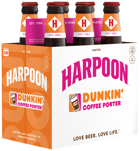 Dunkin Harpoon Coffee Porter