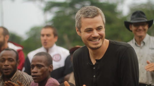 Scott Harrison is the founder and CEO of a nonprofit called charity:water.