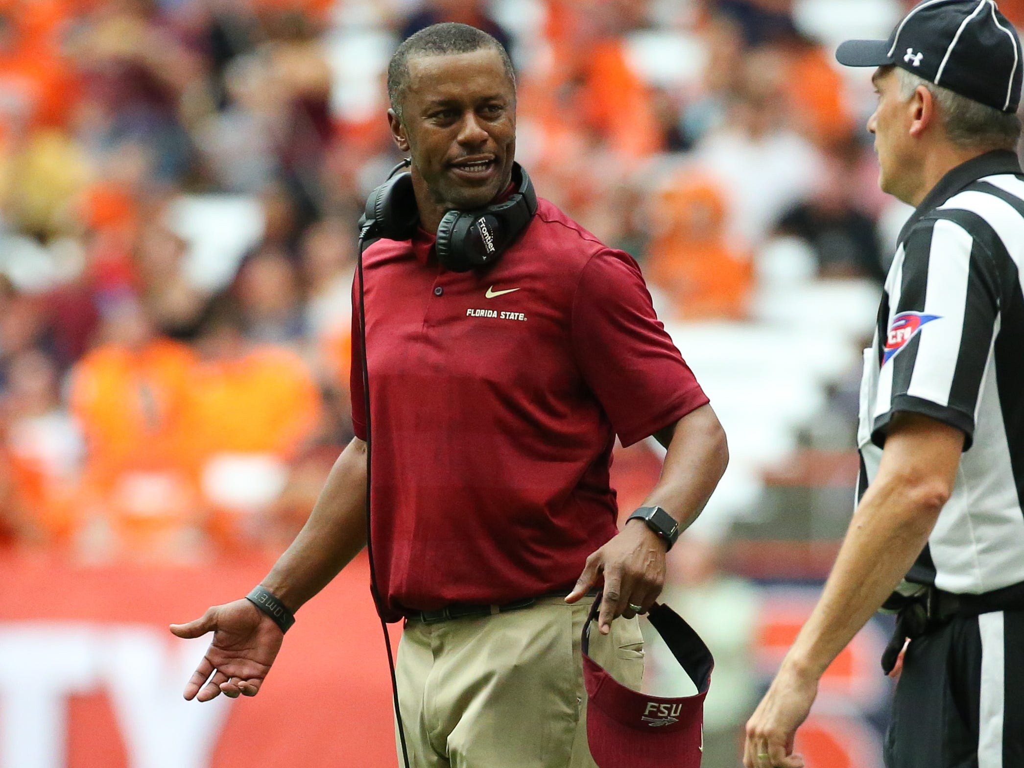 No. 10: Willie Taggart, Florida State.