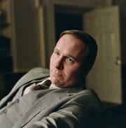 "Christian Bale as a younger Dick Cheney in ""Vice"""