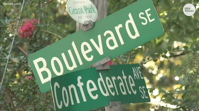 The U.S. has plenty of streets and other public spaces with controversial names. In Atlanta, the city council voted in 2018 to rename Confederate Avenue as United Avenue.