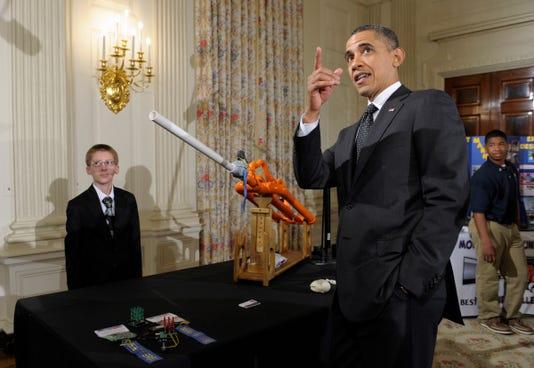 Ap Obama Science Superfan A Usa Dc