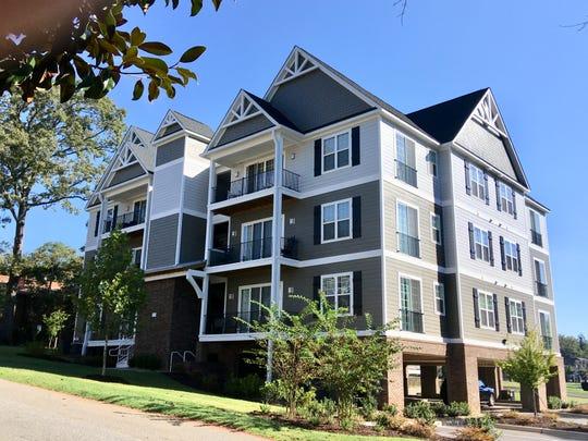 A file photo of The Flats, a condominium complex northwest of Clemson University's campus in Clemson, South Carolina.