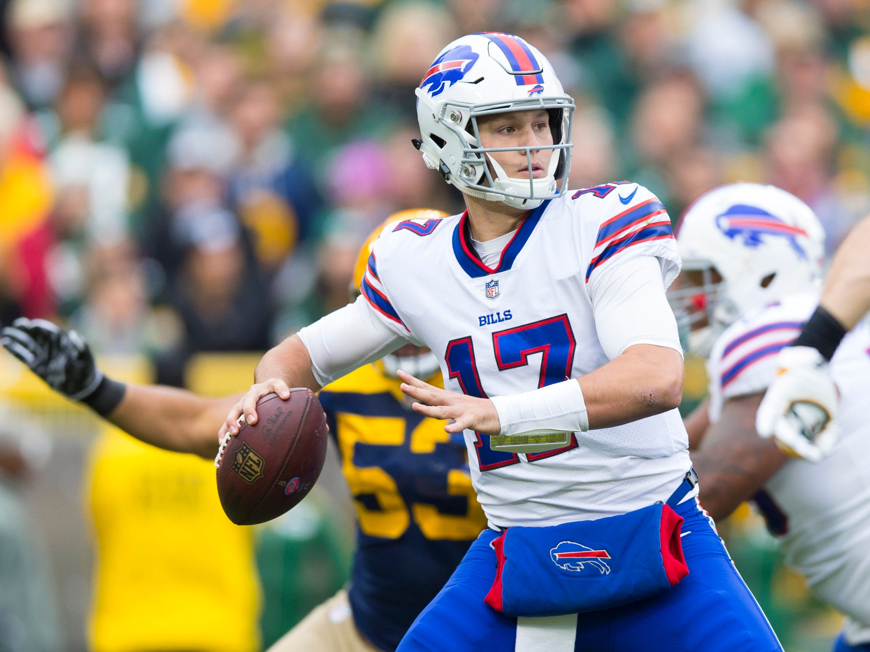 "31. Bills (26): No team's allowed more sacks (21) or is more inept passing (132.5 ypg). Getting a ""franchise passer"" pointless if you don't help him, guys."