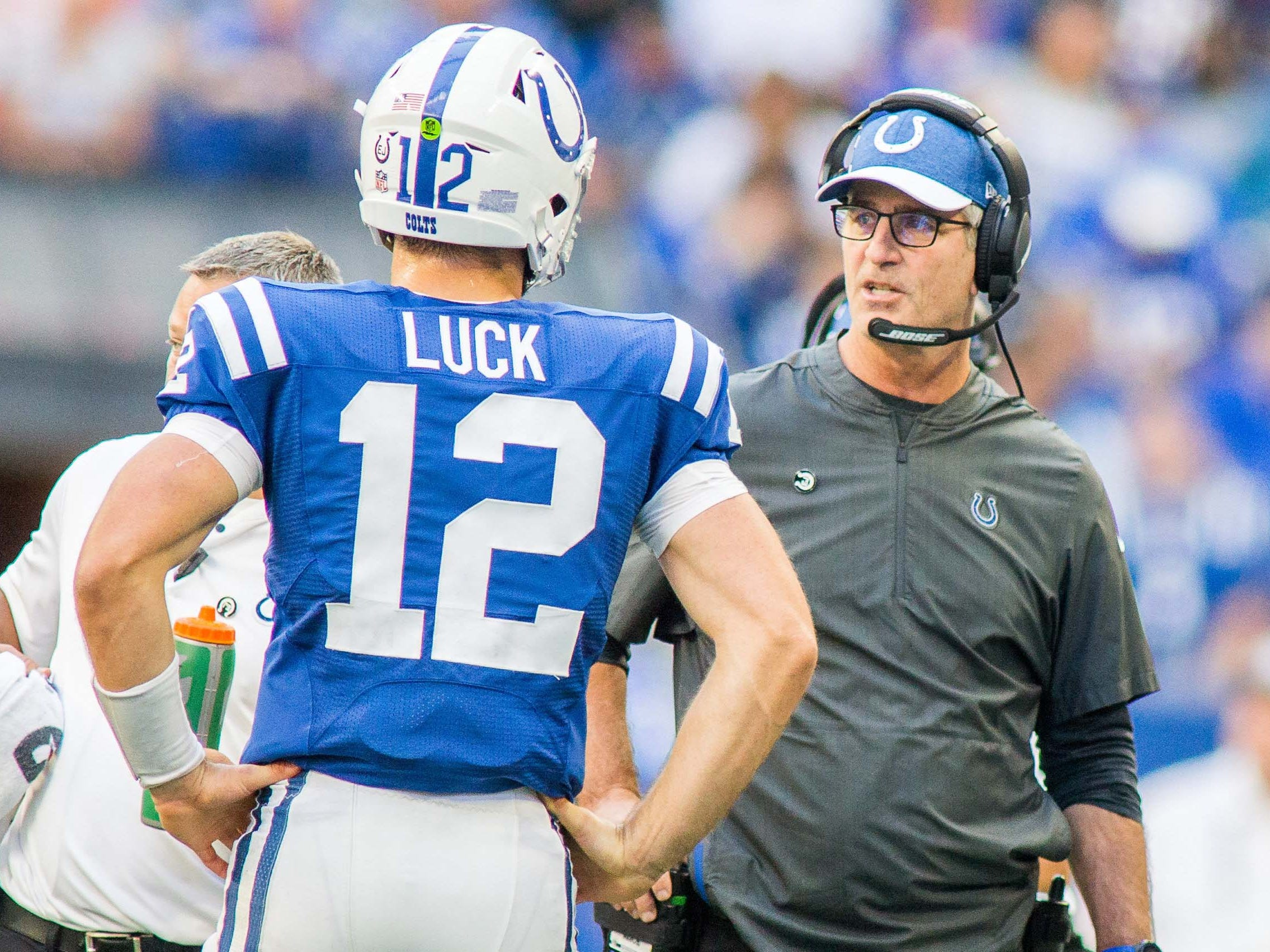28. Colts (15): Is it fair to blast Frank Reich for a boneheaded decision while admiring his swagger as he tries to rebuild Indy's culture. Yes? Cool.