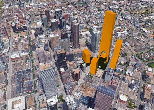 Longmont architecture firm F9 Productions has drawn up its own ideas for Amazon's second North American headquarters: A 125-story building in downtown Denver.