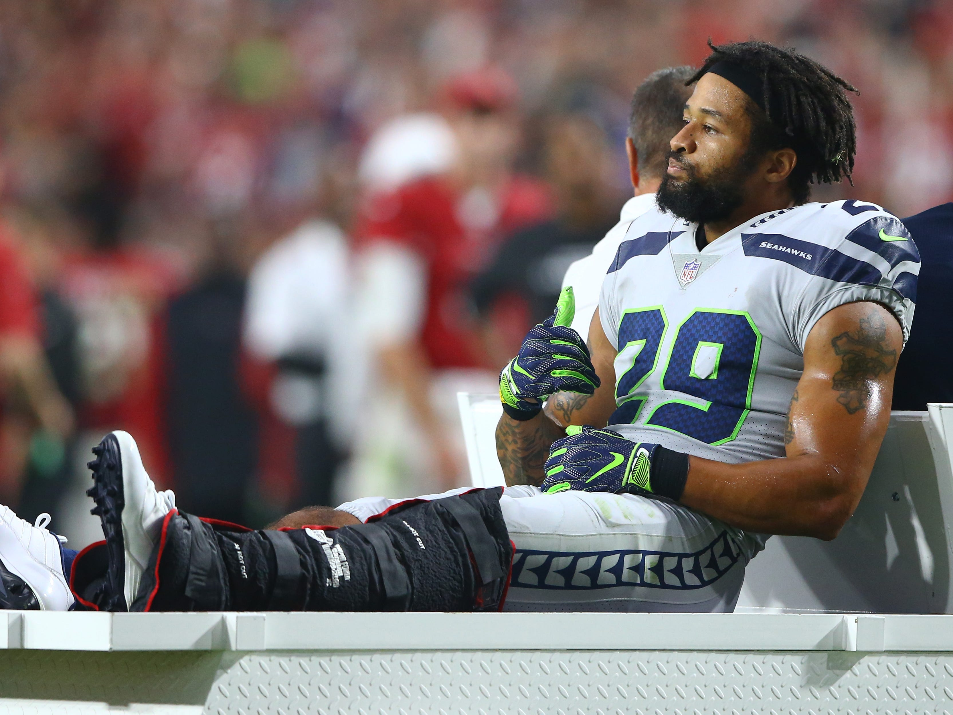 21. Seahawks (25): With owner Paul Allen again battling cancer, and S Earl Thomas breaking his leg, the local mood reflective of Seattle's autumn weather.