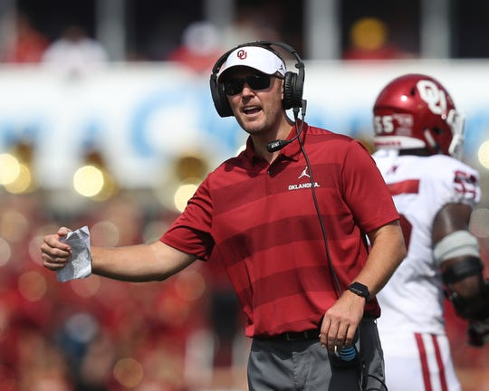 No. 15: Lincoln Riley, Oklahoma.