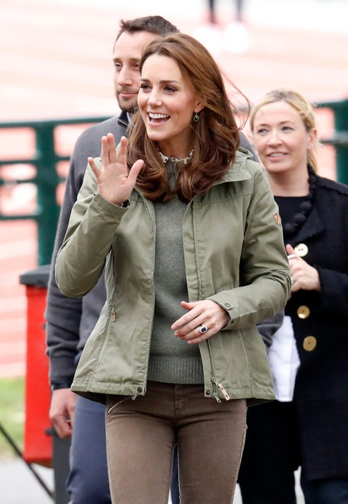 91bacb71808 Duchess Kate returns from maternity leave in a laid-back sweater look